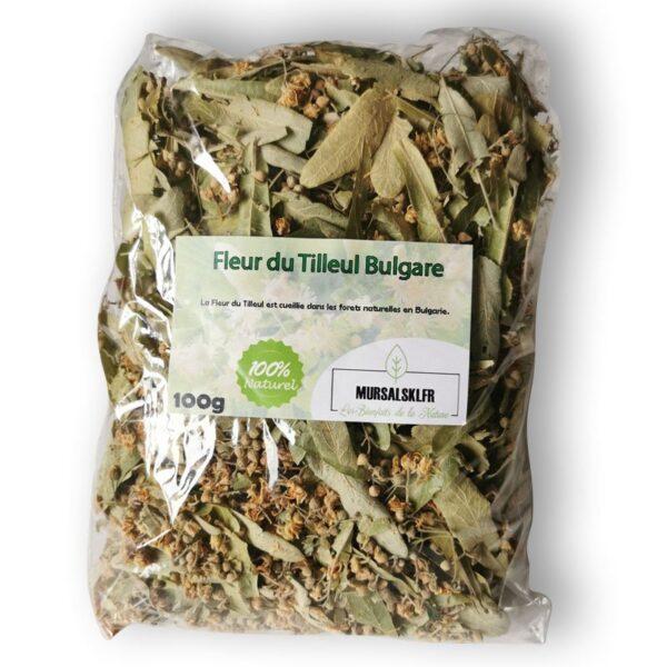 100g fleurs de tilleul sauvage tisane